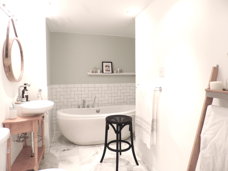 bathroom rough luxe