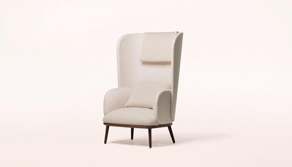 Scandi japanise armchair