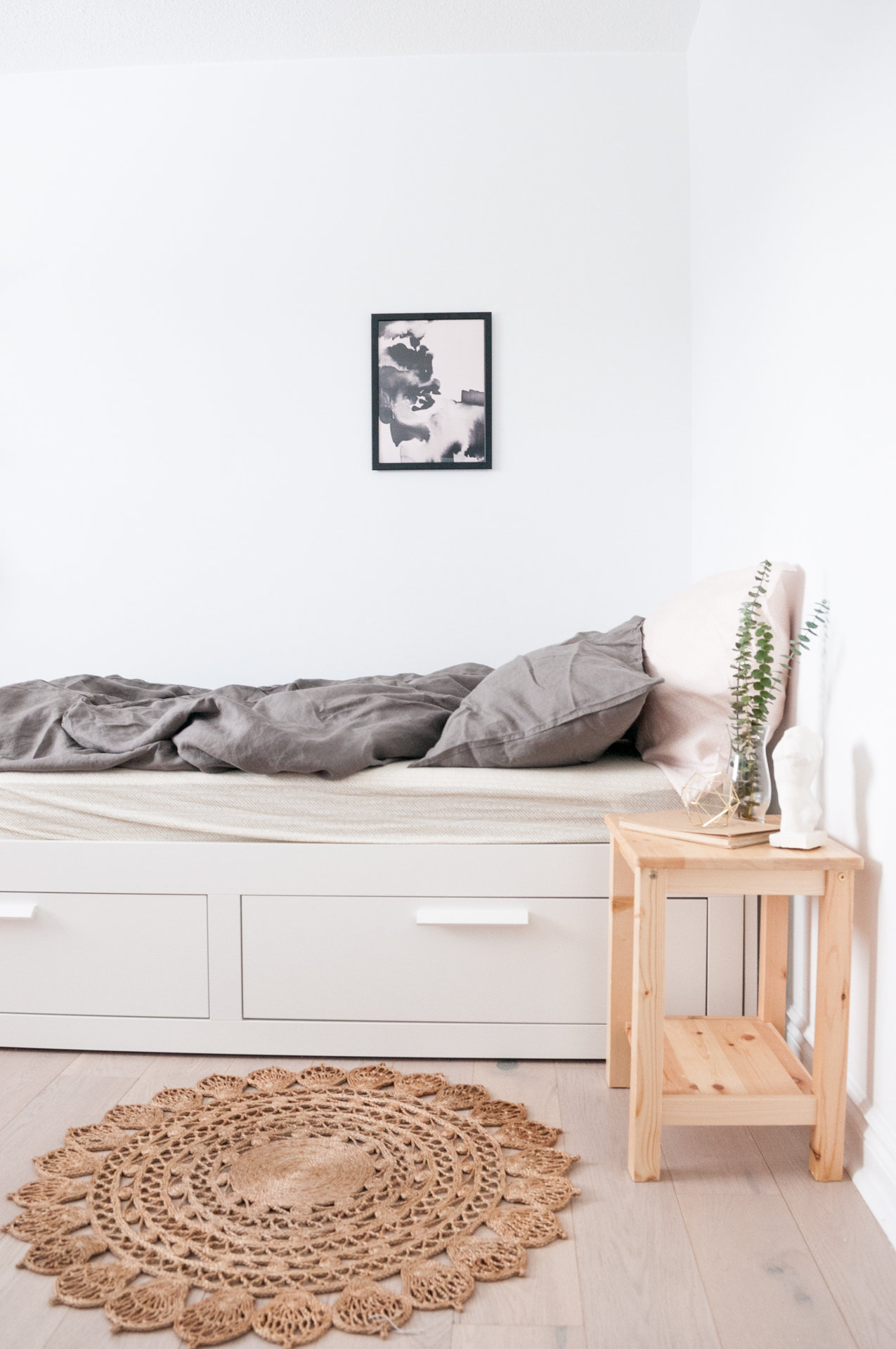 H&M linen bedding bedroom