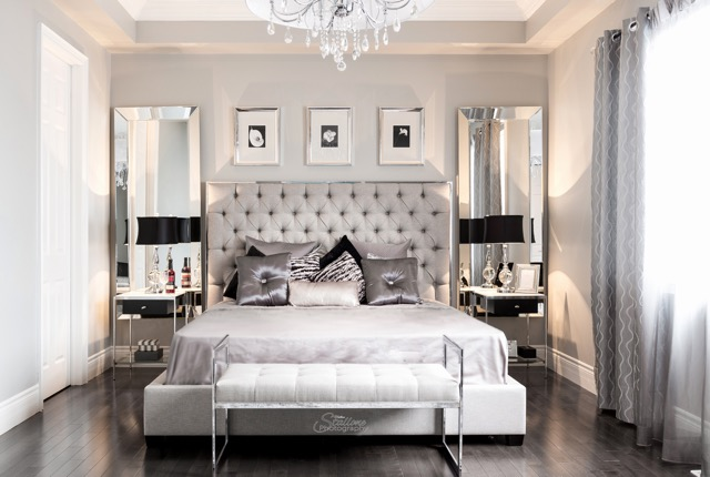 Real Estate Photography, interior design, master bedroom