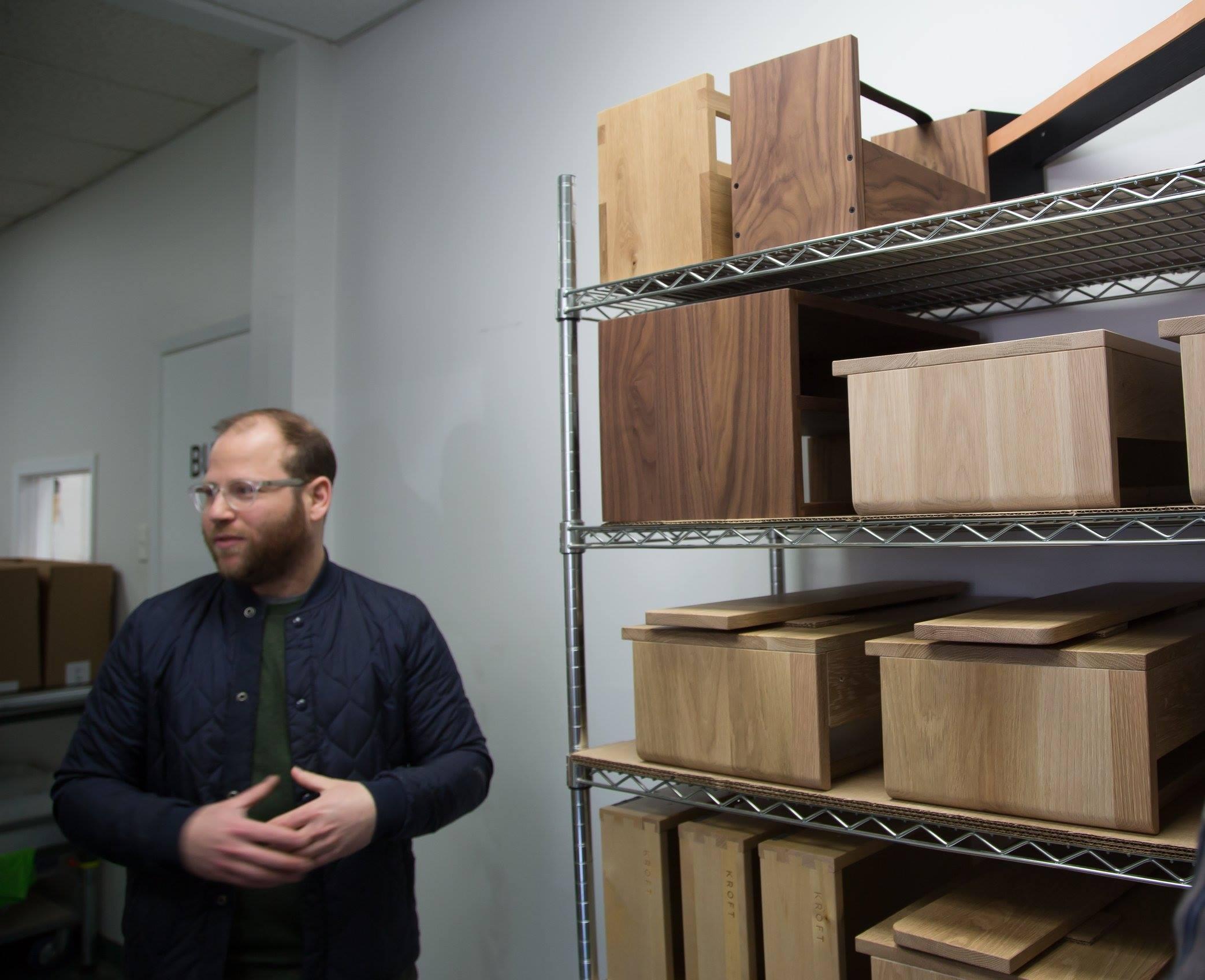 Dustin Kroft talks about the process